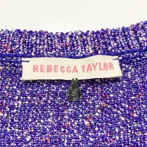 Rebecca Taylor Sweaters - Rebecca Taylor Purple Long Sleeve Pullover Sweater